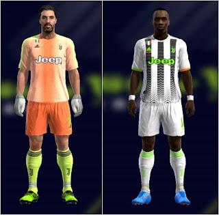 PES 13 Juventus FC Palace Kits 2019/2020
