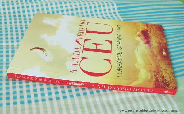 Resenha, livro, A ajuda veio do céu, Lorrayne Saraiva Lima, Schoba, anjos, quotes, trechos