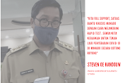 Sulut Daerah dengan Penularan Covid-19 Tertinggi di Indonesia
