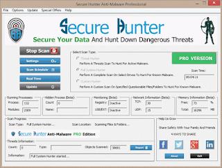تحميل برنامج من أقوى برامج الحماية Secure Hunter Pro في أخر إصداره مع التفعيل
