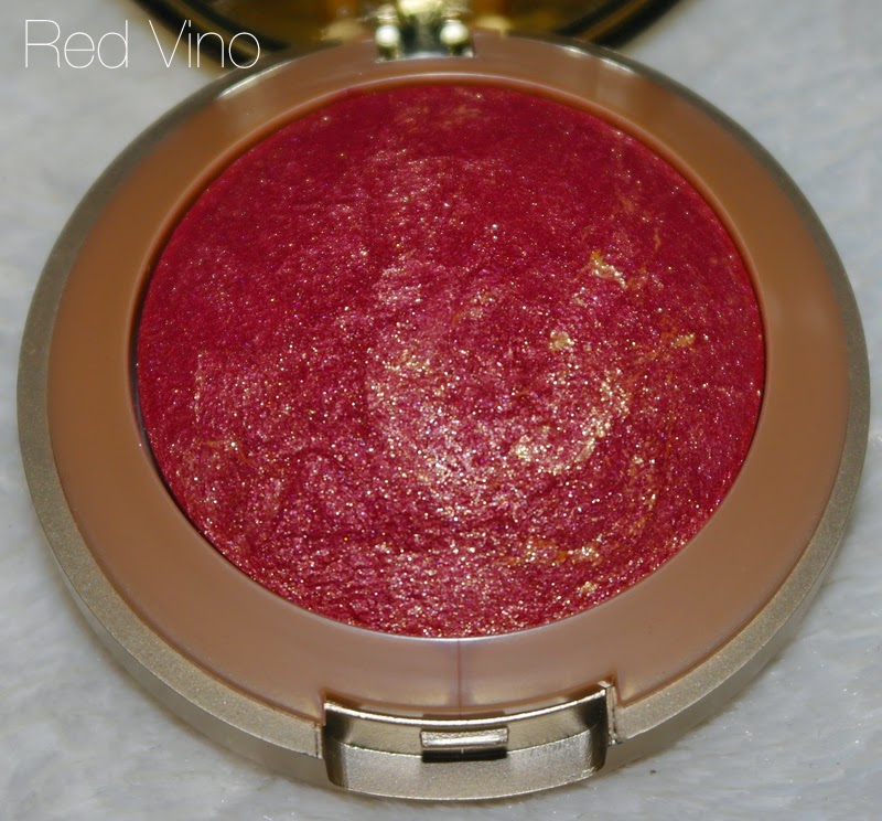 A picture of Milani Baked Blush Red Vino