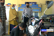 Pelaku Balap Liar Di Tuban Dimarahi Ibunya Di Kantor Polisi