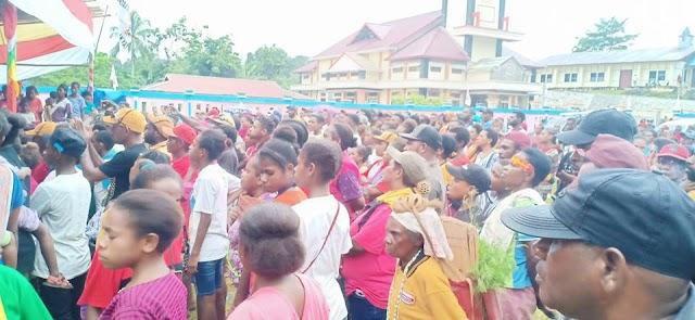 Kampanye Terbuka partai hanura di Lapangan terbuka kampung Sodrofoyo (10/4/2019)