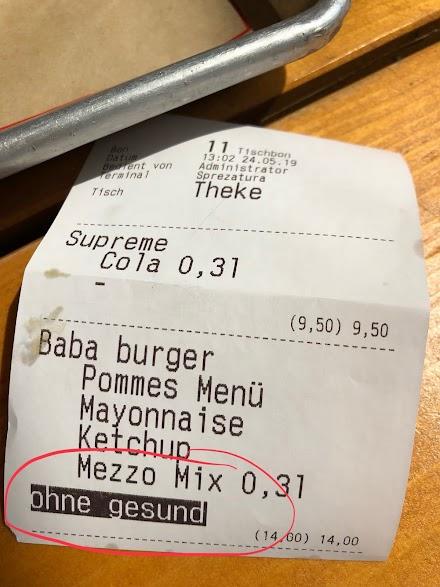 Das Bild des Tages aus der Burgerbude | Sonderwünsche 🍔😎
