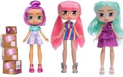 Самые новые куклы Бокси Герлз серия 3: модницы с квадратными глазами