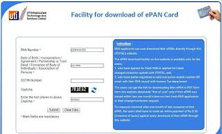How to Download UTI Pan Card
