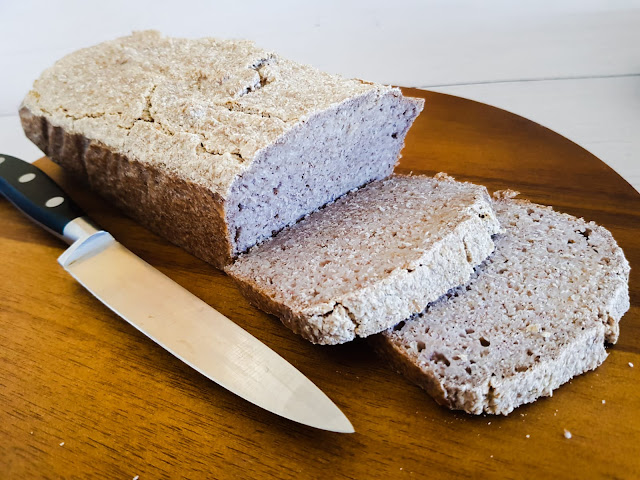 Chleb gryczany bez mąki i drożdży