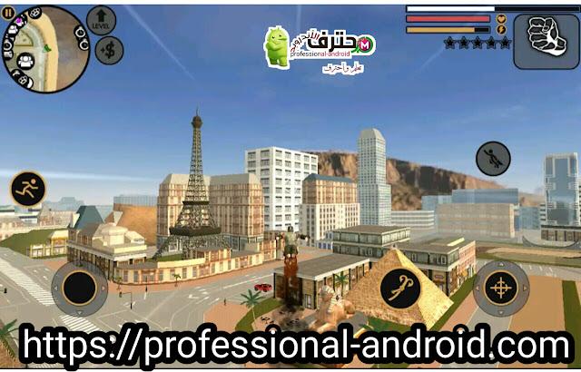 تحميل لعبة Vegas Crime Simulator شبيهة بلعبة GTA جراند ثفت أوتو  آخر إصدار للأندرويد.