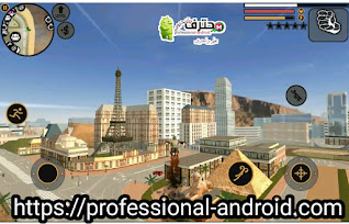 تحميل لعبة Vegas Crime Simulator شبيهة بلعبة GTA اخر إصدار للأندرويد.