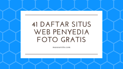 41 Situs Stok Gambar dan Foto Gratis Berkualitas Tinggi