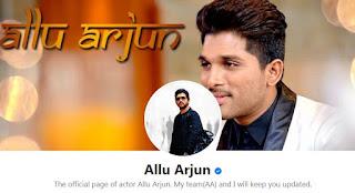 Allu Facebook