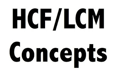 Tricks to Solve HCF and LCM Questions (Important Facts and Formula)