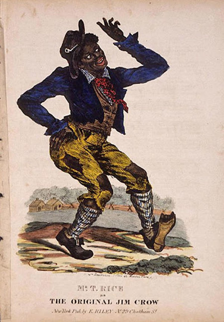 In the early 1800s, when African Americans were considered mere slaves, there was a classic illustration used to depict them. It was an image of a black man in an awkward pose who was portrayed as dumb, lazy and less than human. That character was called 'Jim Crow' and the term 'Jim Crow' would be used for generations to describe racial segregation laws in America.