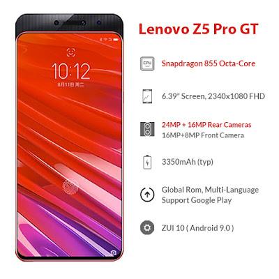 سعر ومواصفات لينوفو Z5 برو Lenovo Z5 Pro, مواصفات Lenovo Z5 Pro