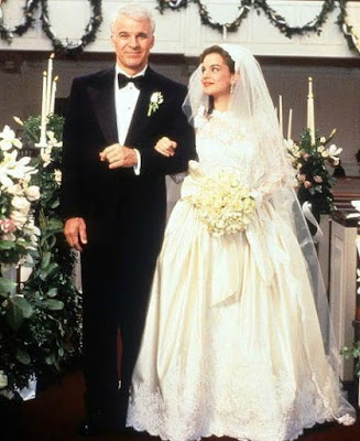 Anne Stringfield in her wedding dress with her husband Martin