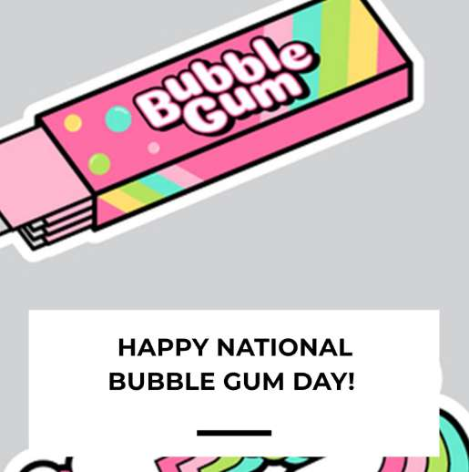 National Bubble Gum Day Wishes Beautiful Image