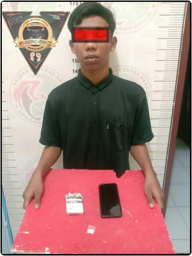 Miliki Sabu, seorang pemuda diamankan Polres Simeulue