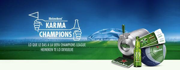 sorteo heineken champions