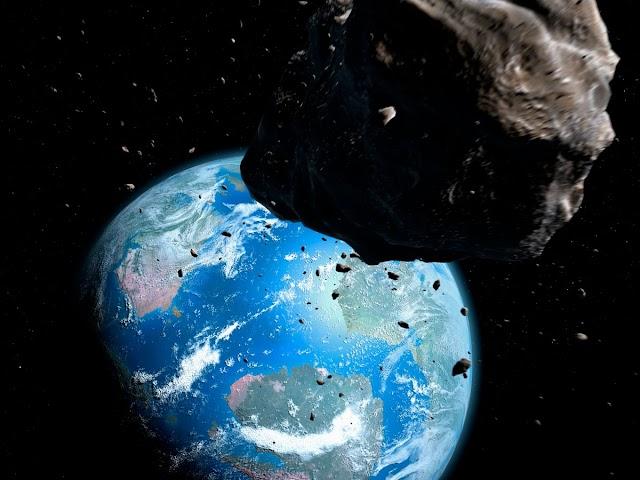 Science : Fear of outside object impact ; 2 asteroids set to cross Earth's orbit !