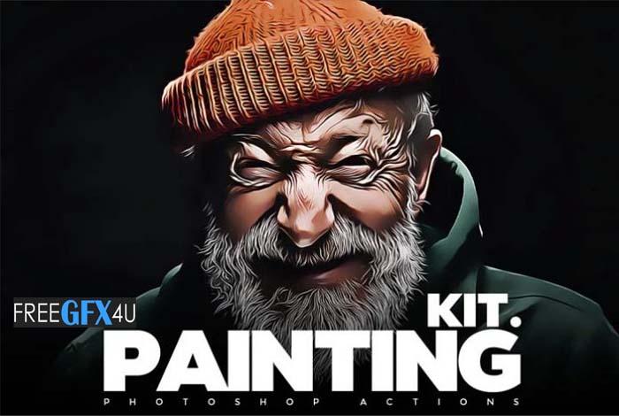Paint Me – Photoshop Painting Effects Kit