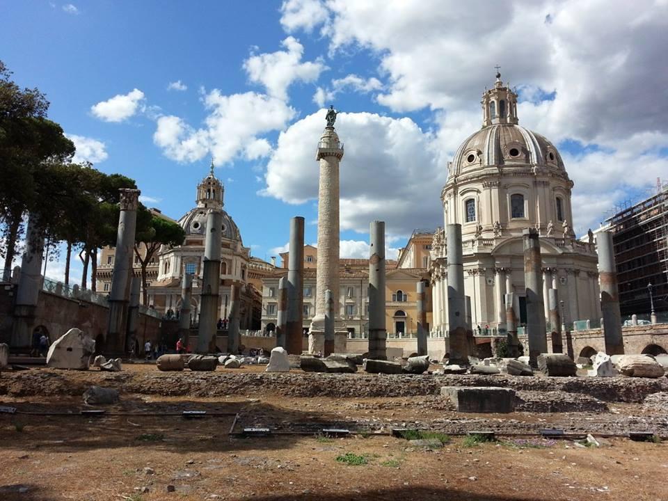 Bambini: La Colonna di Traiano e il Foro di Cesare. Visita e Attività