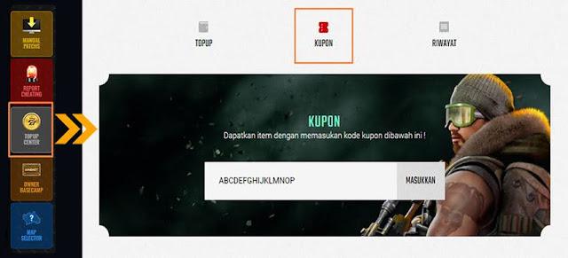 Cara Redeem Kode Kupon Via Website Point Blank