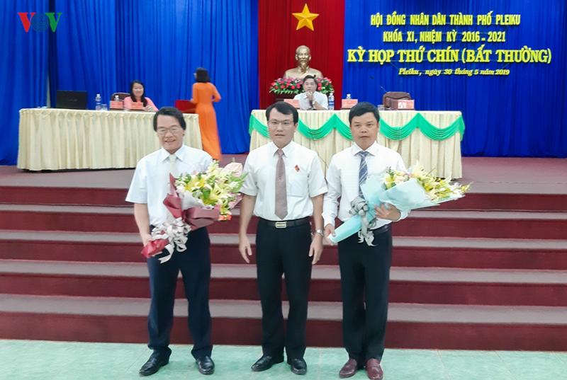 Ông Nguyễn Hữu Quế được bầu làm Chủ tịch UBND TP. Pleiku