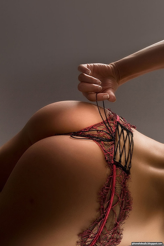 Sexy Ass Hot Lingerie iPhone Wallpaper HD