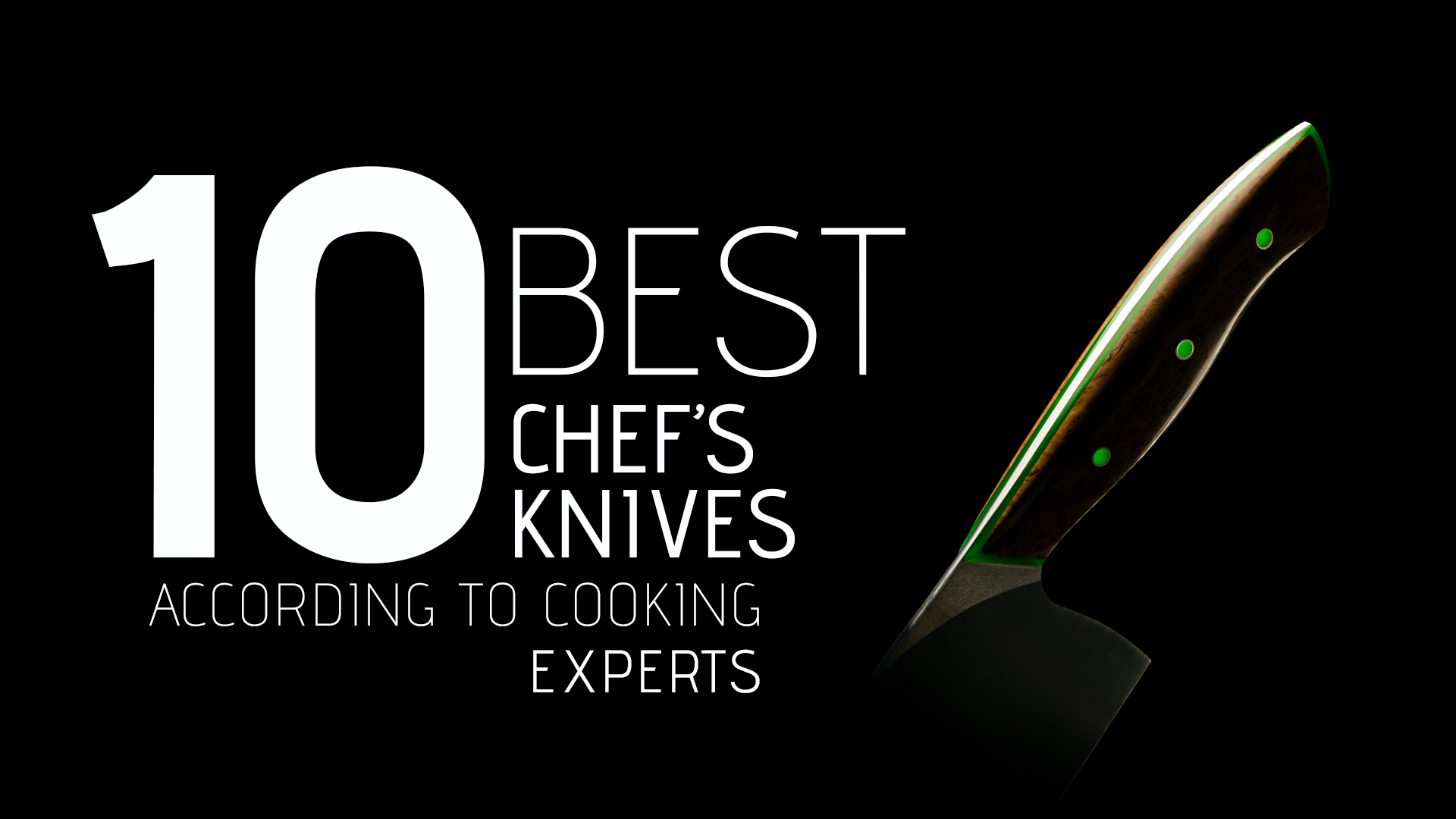 10 Best Chef's Knives, According to Cooking Experts