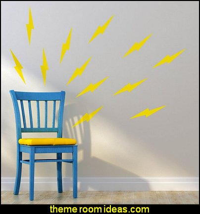 Lighning Bolts Wall Decal