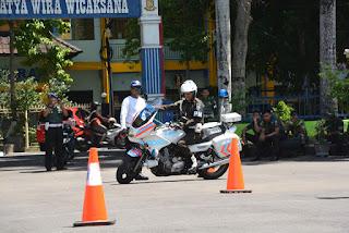 Pelatihan Safety Riding Denpom IX/2 Mataram