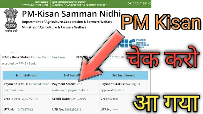 पीएम किसान योजना 2020 - 2021 | PM Kisan Samman Nidhi Yojana List 2020-21
