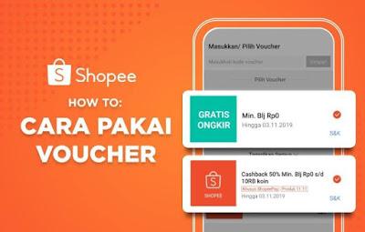 Cara Menggunakan Voucher Gratis Ongkir di Shopee