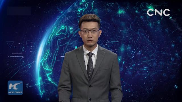 بالفيديو : الصين تكشف رسميا عن أول مذيع ذكاء إصطناعي في العالم !