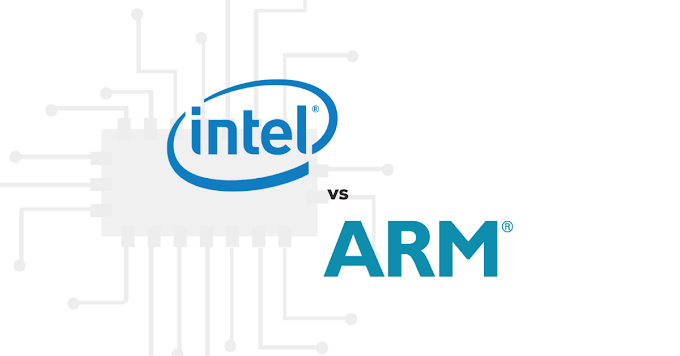 Intel x86 architecture vs ARM architecture-based Processors : The Difference