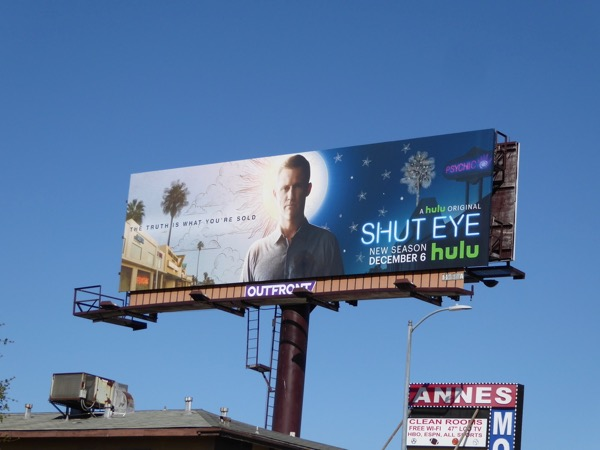 Shut Eye season 2 billboard