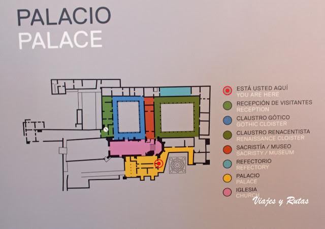 Plano del Palacio De Yuste