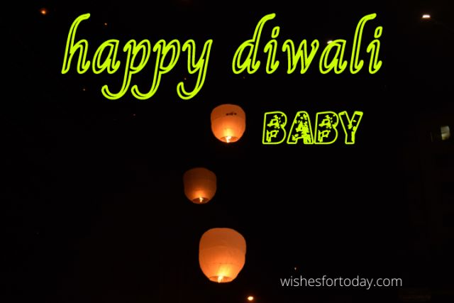 Happy Diwali Baby Images