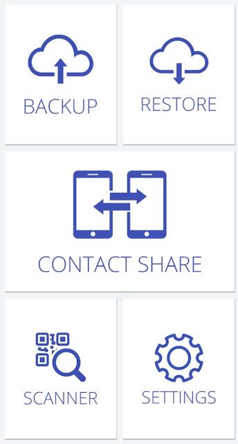 Cara otomatis backup SMS dan nomor kontak ponsel di perangkat android