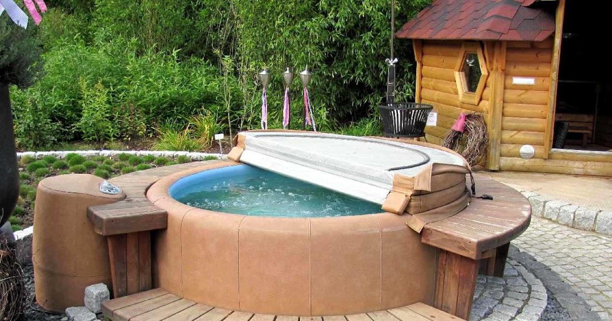 Whirlpool Im Freien : gartenarbeit ideen der wellnessgarten whirlpool sauna schwimmteich co ~ Yuntae.com Dekorationen Ideen