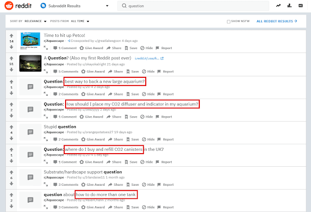 reddit questions
