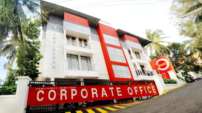 Vismayasmax corporate office @ diamond Hill, Trivandrum- Renovated exterior....!