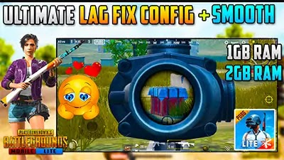 PUBG Mobile Lite New Update - Lag Fix Config File - Run Smoothly 1GB Ram