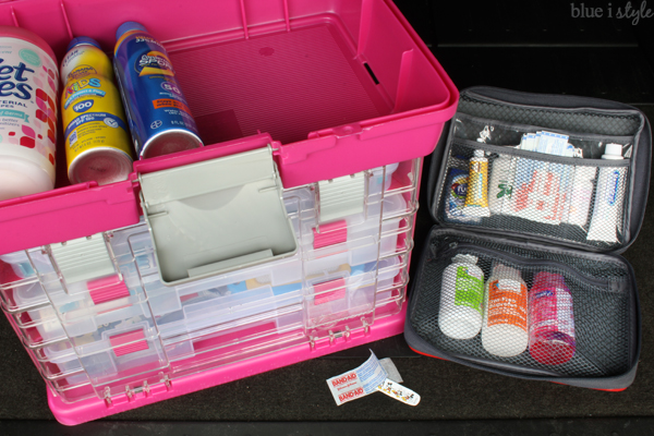 First Aid Kit and other car necessities