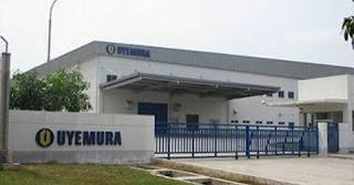 Informasi Loker Terbaru D3 Operator PT Uyemura Indonesia Karawang