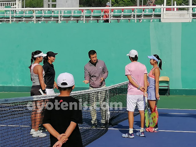 Aldila/Eudice Melaju ke Perempat Final ITF World Tennis Tour Jinan Open