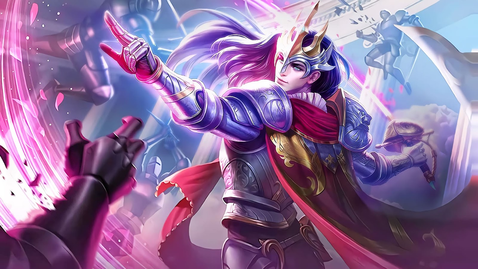 Wallpaper Lancelot Floral Knight Skin Mobile Legends HD for PC