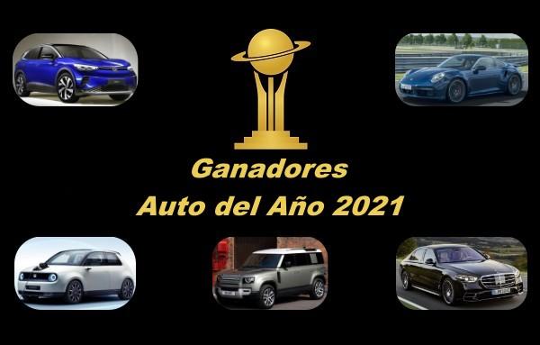 Ganadores Premios Auto del Año 2021