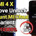 Sentralit: Xiaomi Redmi 4X Santoni Fix Mi Cloud + Fix Sensor