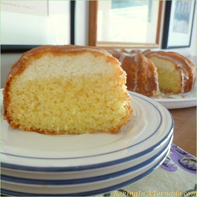 Lemon Lime Ricotta Cake, a refreshing light citrus flavored cake with a lemon ricotta layer | Recipe developed by www.BakingInATornado.com | #recipe #cake #dessert